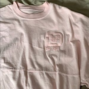 NEW Disney Parks Millennial Pink Spirit Jersey XS